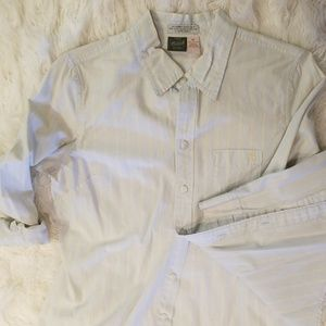 Abercrombie Vintage button down collared shirt
